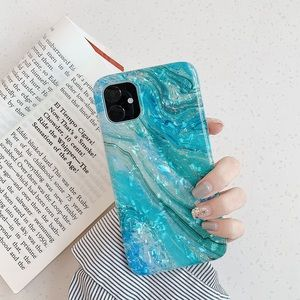 Iphone 11 Marble crystal case